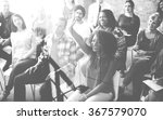 diverse people conference... | Shutterstock . vector #367579070