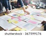 business people meeting design... | Shutterstock . vector #367599176