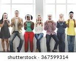 frame face communication... | Shutterstock . vector #367599314