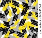 cross brushstrokes seamless... | Shutterstock .eps vector #367615664