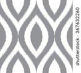 faux tribal dye weave pattern... | Shutterstock .eps vector #367632260