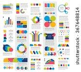 mega set of infographic... | Shutterstock .eps vector #367648814