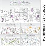 doodle line design of web...   Shutterstock .eps vector #367668200