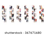 business picture people... | Shutterstock . vector #367671680