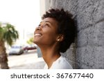 closeup portrait of happy young ... | Shutterstock . vector #367677440
