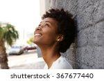 closeup portrait of happy young ... | Shutterstock . vector #367677440