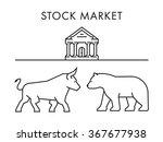 line vector design concept for... | Shutterstock .eps vector #367677938