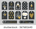 set of valentine's day... | Shutterstock .eps vector #367681640