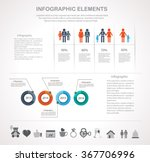 info graphic design template... | Shutterstock .eps vector #367706996