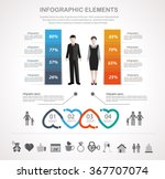 info graphic design template... | Shutterstock .eps vector #367707074