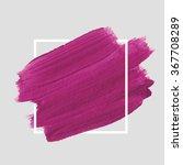 original grunge brush paint...   Shutterstock .eps vector #367708289