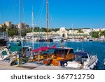 Boats In Mandraki Harbor....