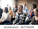 corporate seminar conference... | Shutterstock . vector #367745690