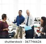business people meeting... | Shutterstock . vector #367746626