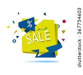 super sale and best offer. big... | Shutterstock .eps vector #367754603