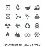 science signs and symbols   ... | Shutterstock .eps vector #367757969