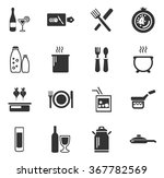 food and kitchen symbol for web ... | Shutterstock .eps vector #367782569