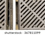 dirty sewers view with railway | Shutterstock . vector #367811099