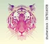 low poly vector animal... | Shutterstock .eps vector #367816058
