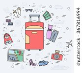 tourism infographic concept...   Shutterstock .eps vector #367816994