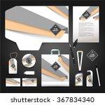 stationery design identity... | Shutterstock .eps vector #367834340