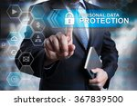 personal data protection... | Shutterstock . vector #367839500