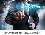 software development concept.... | Shutterstock . vector #367839584