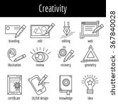 vector set of icons about...