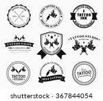 set of logos on white... | Shutterstock .eps vector #367844054