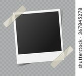 vector blank retro photo frame... | Shutterstock .eps vector #367845278