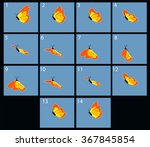 Animation Of Flaing Butterfly....