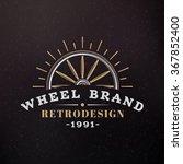 Wooden Wheel. Vintage Retro...