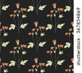 floral seamless pattern.... | Shutterstock .eps vector #367854869
