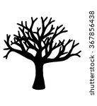 tree vector isolated on white...   Shutterstock .eps vector #367856438