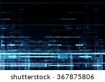 abstract techno background | Shutterstock . vector #367875806