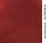 red leather texture closeup.... | Shutterstock . vector #367883810