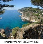High Angle View Coast From - Fine Art prints