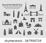 round the world tour set of...
