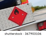 pictogram for chemical hazard ... | Shutterstock . vector #367903106