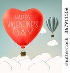 mothers day over sky landscape... | Shutterstock .eps vector #367911506