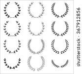 a laurel wreath icon   set... | Shutterstock . vector #367912856