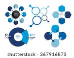 circle infographic templates.... | Shutterstock .eps vector #367916873