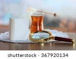 still life with mini book ... | Shutterstock . vector #367920134