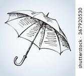 modern umbel coverage isolated... | Shutterstock .eps vector #367920530