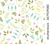Floral Seamless Pattern. Cute...