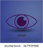 eye icon   Shutterstock .eps vector #367939988