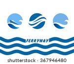 vector logo template ... | Shutterstock .eps vector #367946480