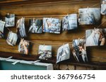 garland on the wall of the room ... | Shutterstock . vector #367966754