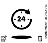 24 vector icon | Shutterstock .eps vector #367966943