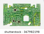 an old circuit out of a vcr. | Shutterstock . vector #367982198